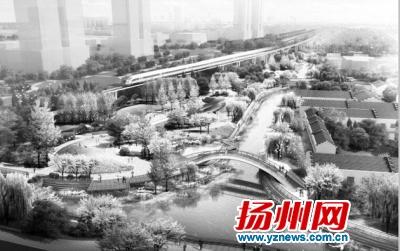 """扬州""""七河八岛""""将添景观河道风光带"""