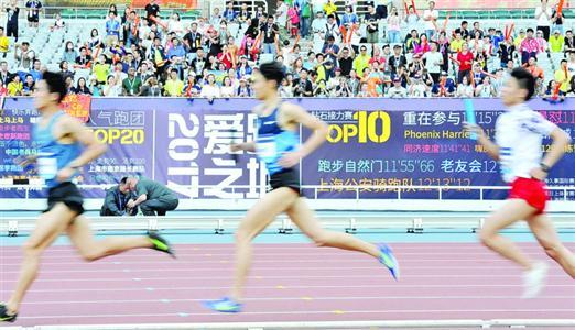 业余选手跑进上海钻石联赛 顶级联赛接地气