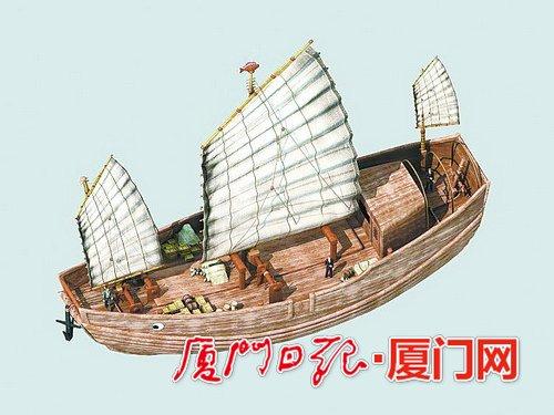 """宋代古沉船""""华光礁1号""""复原 建造师监造者都是福建人"""