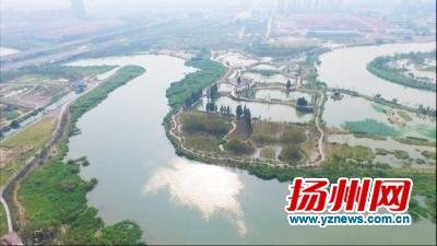 扬州年节水4千万吨 每天10万吨再生水补充河道