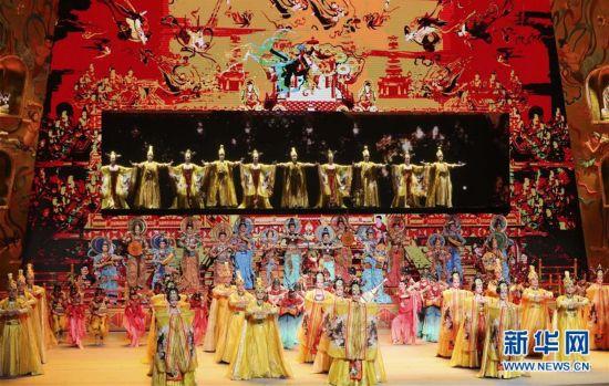 """""""一带一路""""国际合作高峰论坛文艺演出《千年之约》在京举行"""