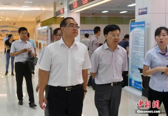 国侨办副主任郭军参观福州自贸片区
