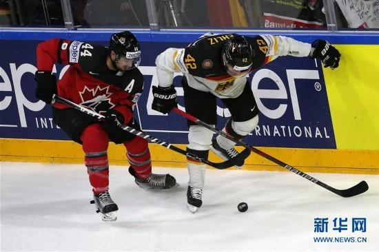 (体育)(2)冰球――世锦赛四分之一决赛:加拿大晋级半决赛