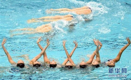 (全运会)(1)花样游泳――水中芭蕾