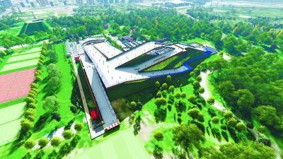 北京奥森公园今夏可滑旱雪溜真冰
