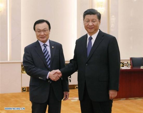 CHINA-BEIJING-SOUTH KOREAN ENVOY-MEETING (CN)