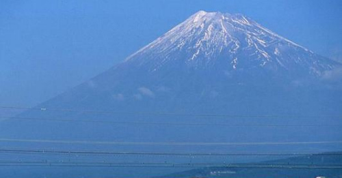资料图:日本景点富士山