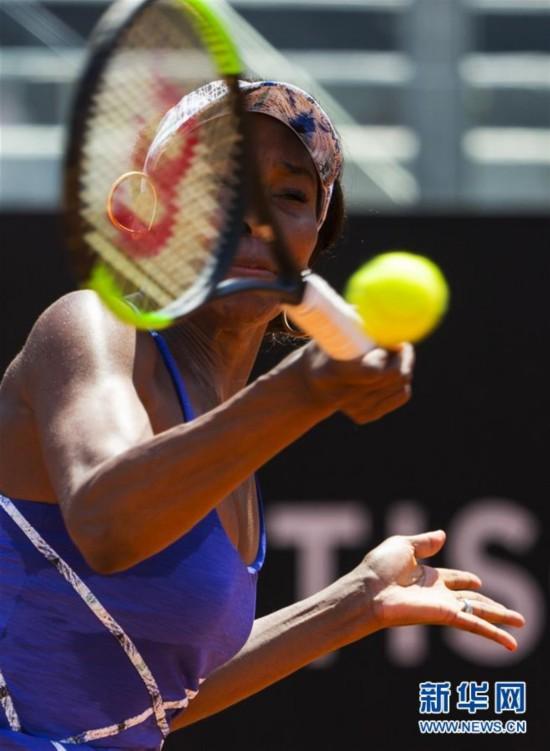 (体育)(2)网球――意大利公开赛:大威晋级八强