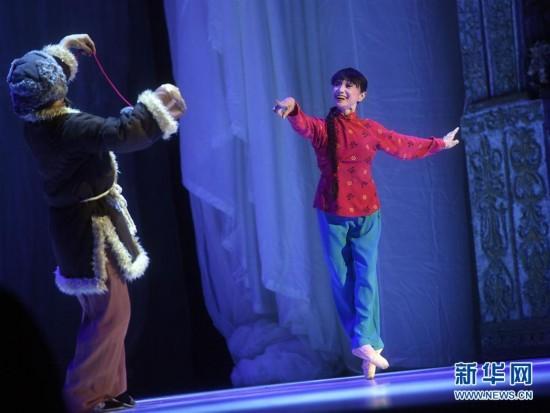 日本松山芭蕾舞团第15次访华 69岁森下洋子主演《白毛女》图片