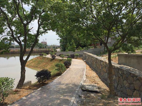 南京溧水经济薄弱村首个美丽乡村建设月底完工