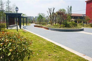 泰州迎宾游园建成向市民开放 占地面积10162�O