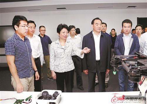 黄莉新徐州调研 强调加快中心城市建设