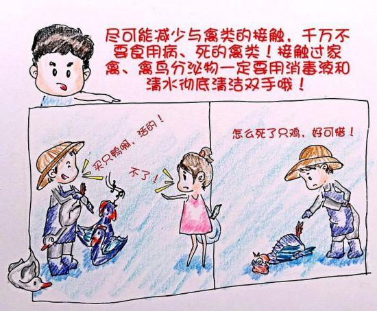H7N9不可怕!中国90后漫画美女用美女教你预防自贡十名护士前图片