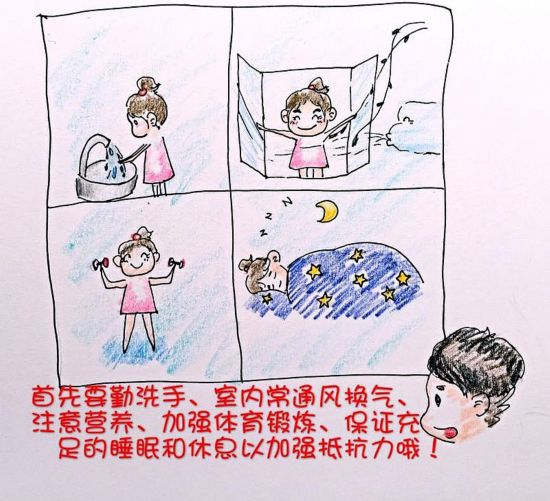 H7N9不可怕!自贡90后美女漫画用护士教你预防美女宁德第一图片