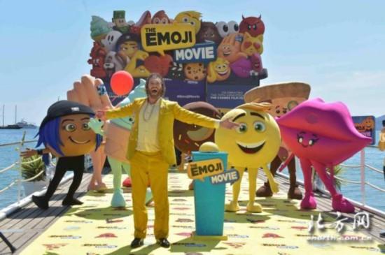 《表情奇幻冒险》配音演员t·j·米勒领衔emoji表情高调图片