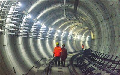 天津地铁8条隧道上下重叠交叉缠绕(图)