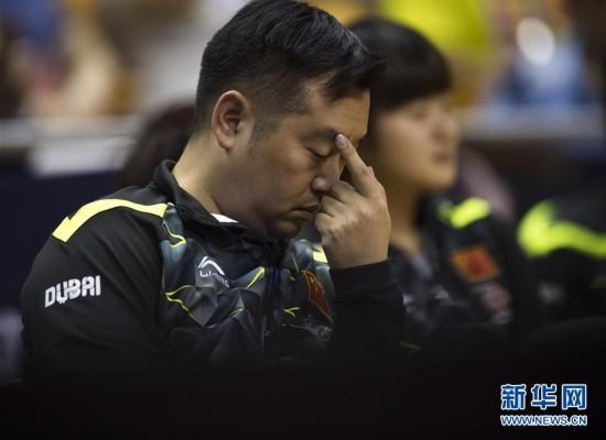 中国乒乓球协会暂停孔令辉教练职务