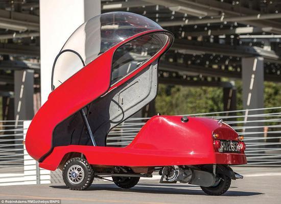 世界上发动机排量最小的微型车将被拍卖--书画