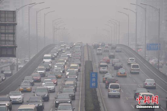 机动车污染已成为中国空气污染的重要来源