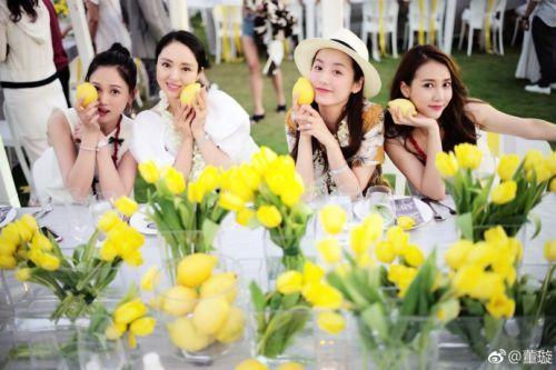 董璇陈乔恩出席安以轩婚礼欢迎宴 安以轩婚礼什么时候正式开始图片