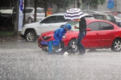 宁夏自南向北出现降水天气