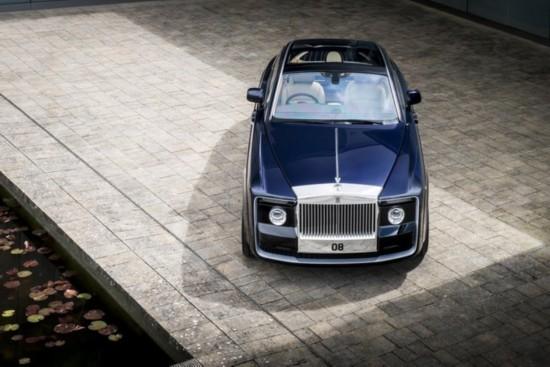 劳斯莱斯定制车慧影发布 售价合8900万元
