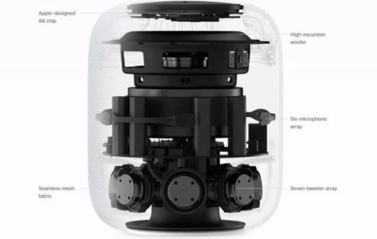苹果WWDC2017压轴新品 HomePod精美图赏