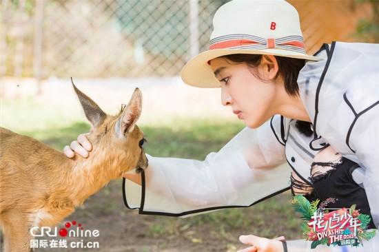 《花儿与少年3·冒险季》上演原始大片 陈柏霖娜扎与动物自拍吸睛