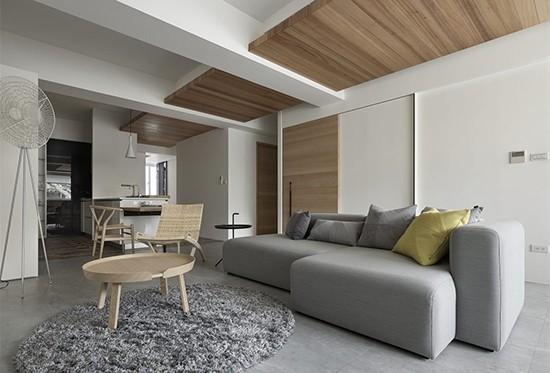 公寓房原木设计 回归简单纯粹、舒适的生活