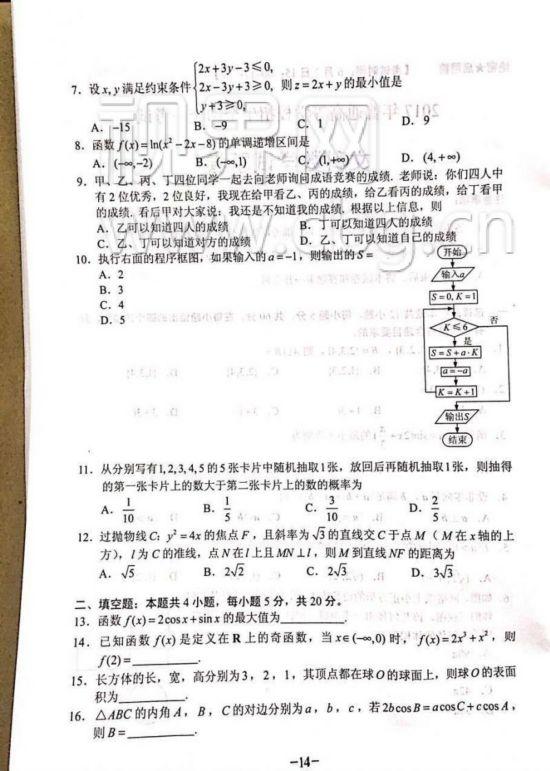文科数学2