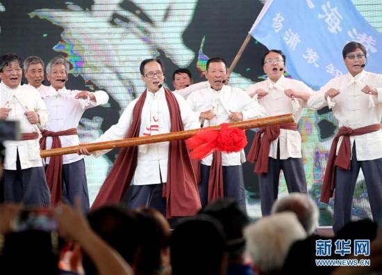 (文化)(1)上海举行非物质文化遗产宣传展示活动