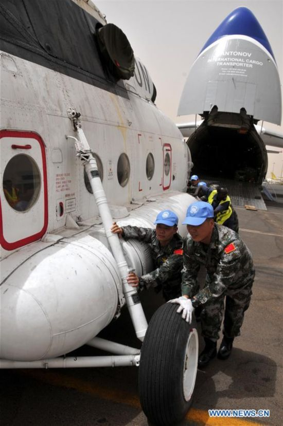 SUDAN-CHINA-HELICOPTER UNIT-DARFUR