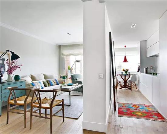 11图混搭时尚公寓 各具特色演绎简约式奢华