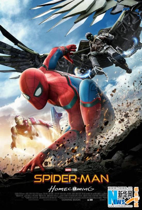 《蜘蛛侠:英雄归来》降临空中花园 小蜘蛛嗨翻新加坡