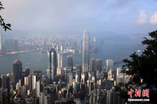 香港摩天大楼 冠绝全球(组图)