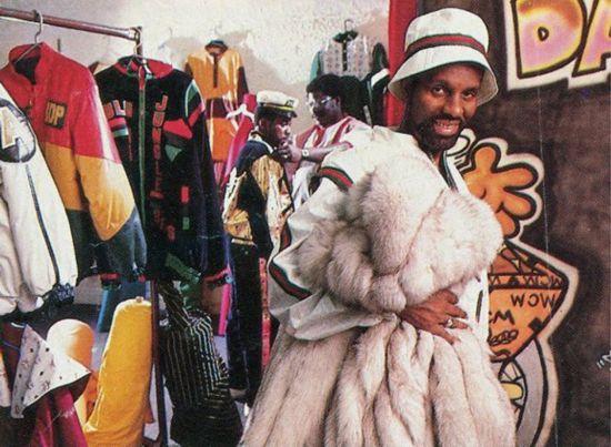 1980年代,Dapper Dan在美国流行