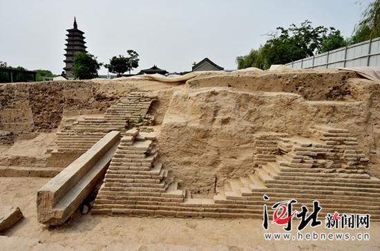 正定开元寺遗址7朝文化层叠压2000文物出土