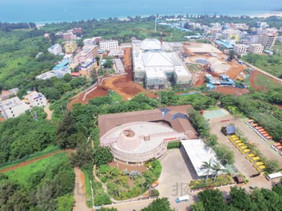 涠洲岛创建5A景区建设项目顺利推进