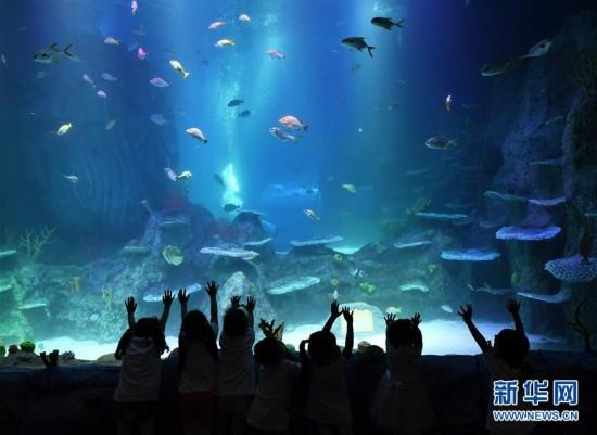 重庆海洋探索中心邀请市民参观体验