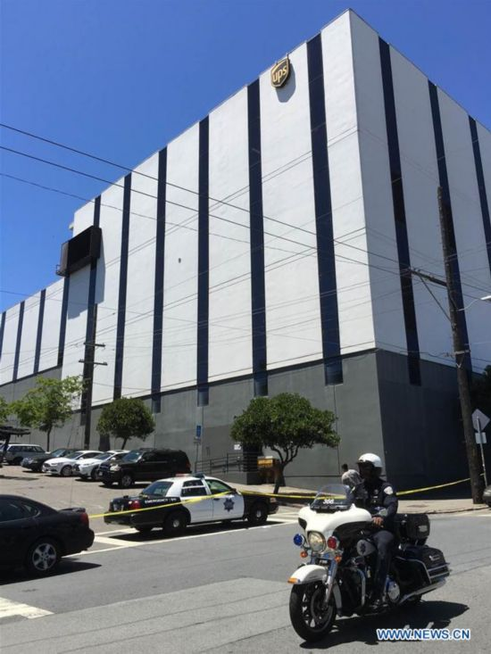 U.S.-SAN FRANCISCO-UPS FACILITY-SHOOTINGS