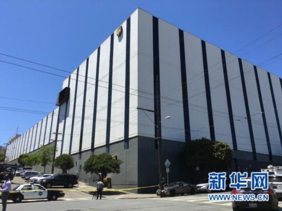 美國舊金山14日發生一起槍擊事件 已致4人死亡