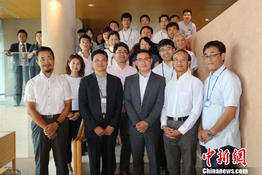 图为日本国际产学研促进会首届学术研究交流会嘉宾合影留念。 尹法根 摄