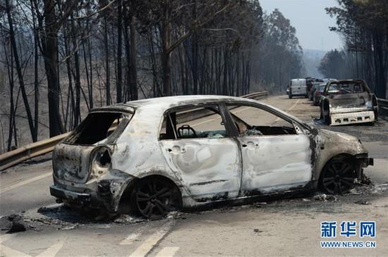 葡森林火灾造成至少62人死亡 政府宣布进入紧急状态(组图)