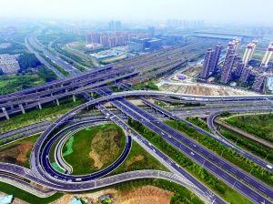 南京龙西互通二期通车 市区到南站可省20分钟