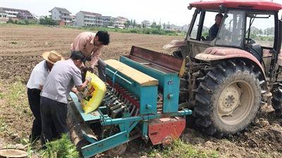 南通海门市规模化种植基本实现农机化