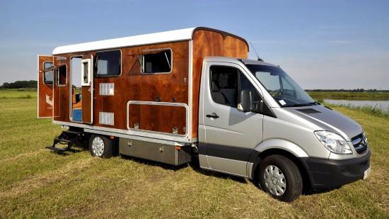 荷兰公司推改装奔驰斯宾特房车 车身可分离