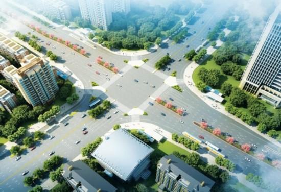 南宁大学路全面升级改造 打造广西学府书香第一路