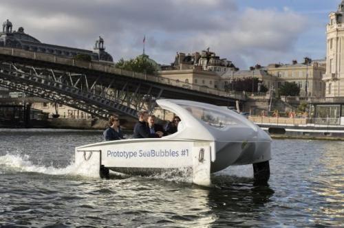 水上出租车巴黎试航成功 另类出行替代传统