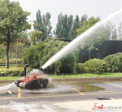 徐州87台消防机器人列装 提升消防科技装备