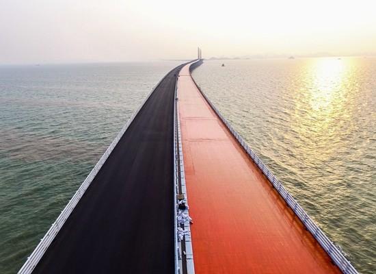 港珠澳大桥 标注中国工程建设新高度